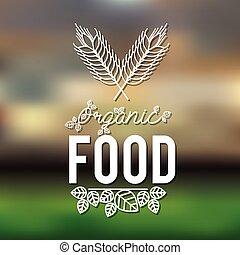 cibo, vegetariano, disegno
