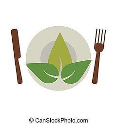 cibo, vegetariano, salute, dieta