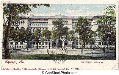 Cicago Newberry Library
