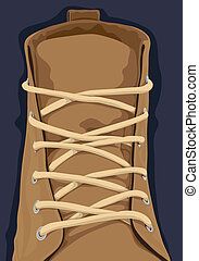 cicatrizarse, zapato