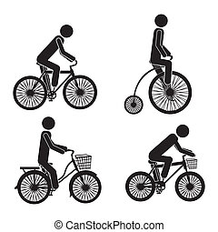 ciclismo, ícones