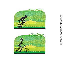 ciclismo, cartaz