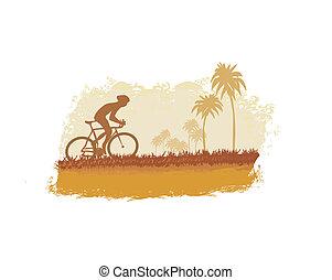 ciclismo, cartel