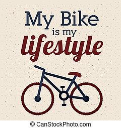 ciclismo, desenho