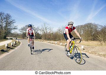 ciclismo, excursão