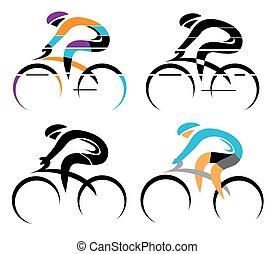 ciclismo, símbolos