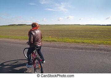 ciclista, road.