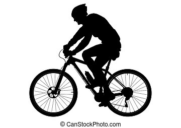 ciclista, viejo
