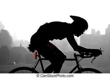 ciclo, corsa
