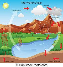 ciclo de agua