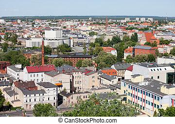 cidade, de, bydgoszcz, em, polônia