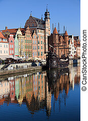 cidade, de, gdansk