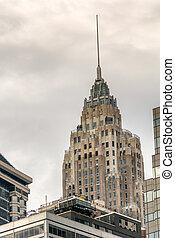 cidade, eua, edifícios, -, ny, york, novo