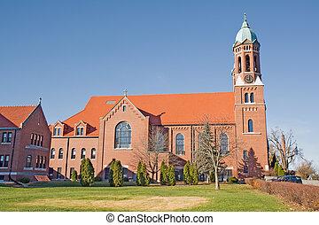 cidade faculdade universitária, capela