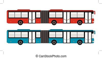 cidade grande, autocarro