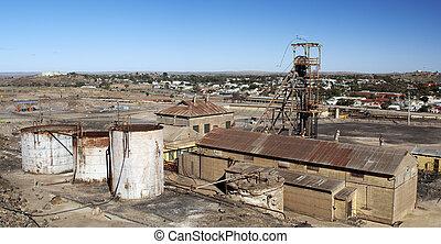cidade, mineração