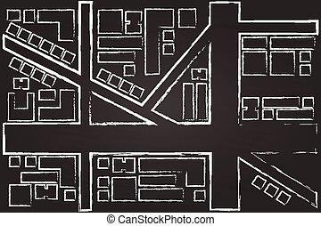 cidade, regional, mapa