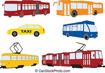 cidade, transporte
