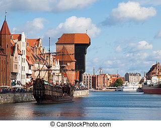 cidade velha, de, gdansk