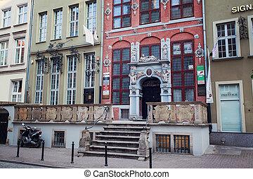cidade velha, em, gdansk