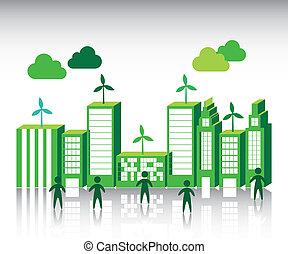 cidade, verde