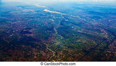 cidade, vista aérea