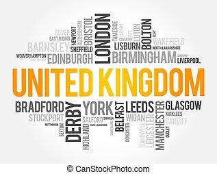 cidades, palavra, reino, unidas, nuvem, lista, cidades