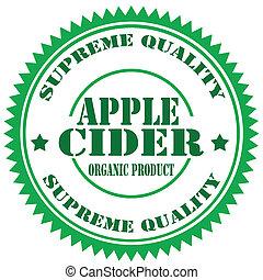 cider-stamp, mela
