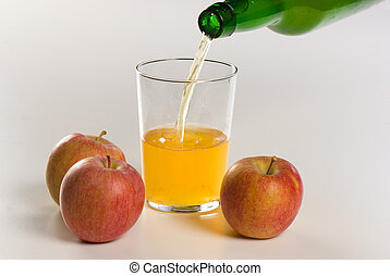 Traditional homemade cider, unfiltered and from homegrown apples