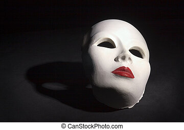 cień, maska