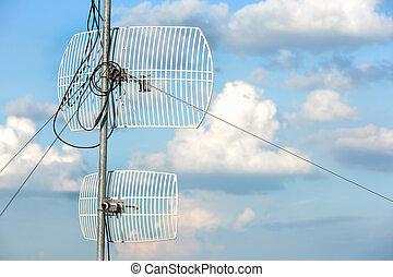 ciel, antenne