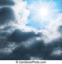 ciel bleu