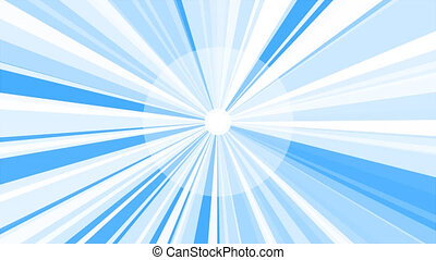 ciel, briller, soleil, contre, starburst, blanc, sunburst, ...