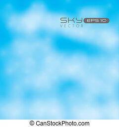 ciel clair, illustration