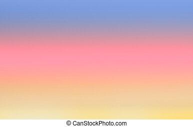 ciel, coloré, fond