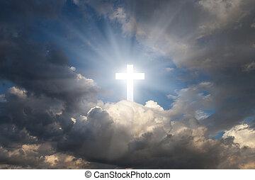ciel, croix
