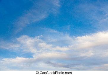 ciel, dans, hiver, exotique, 01
