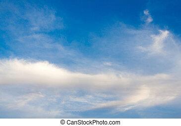 ciel, dans, hiver, exotique, 02
