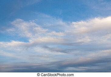 ciel, dans, hiver, exotique, 03