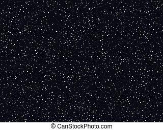 ciel, extérieur, fond, nuit, espace, vecteur, profond, étoilé