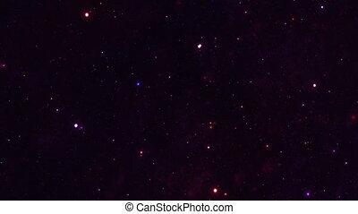 ciel, nébuleuse, nuit, galaxie, étoiles