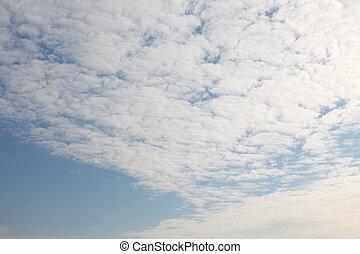 ciel nuageux, texture