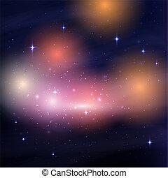 ciel nuit, galaxie, 0209