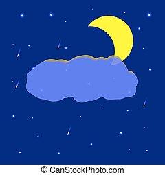 ciel, nuit