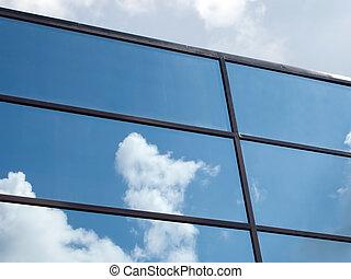 ciel, reflet