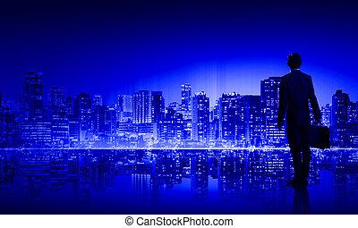 cielna, życie, miasto