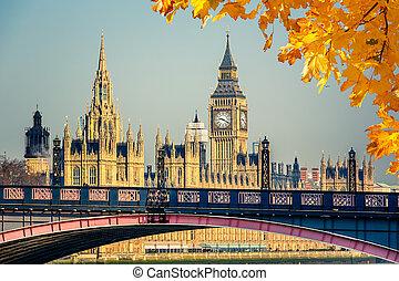 cielna ben, i, domy parlamentu