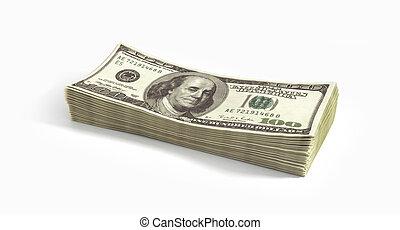cielna, dolary, stos