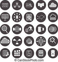 cielna, komplet, dane, ikona
