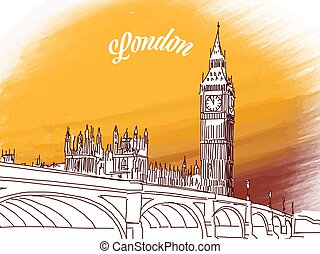 cielna, rys, ben, londyn